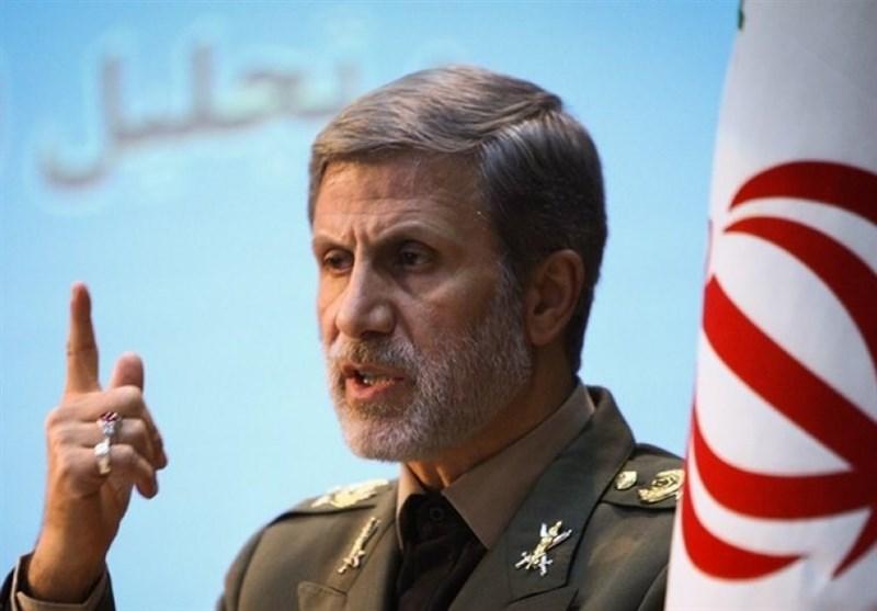 وزیر دفاع: هر تهدید و تجاوز را بی درنگ پاسخ خواهیم داد