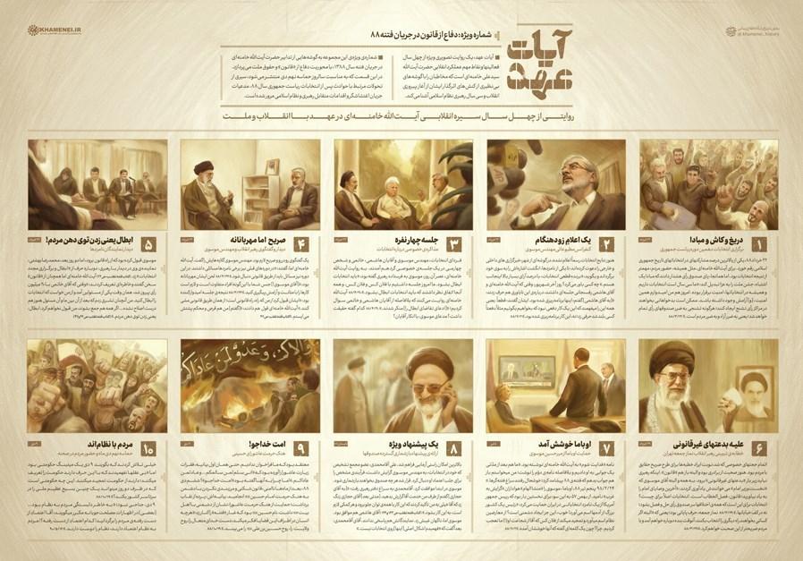 فتنه 88 , شهدای فتنه 88 , امام خامنهای , 9 دی ,