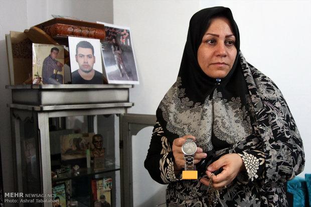 پیام مادر شهید قربانخانی به سردار شهید قاسم سلیمانی