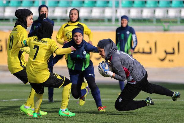 اعلام برنامه های هفته دوازدهم تا بیست و دوم لیگ فوتبال بانوان