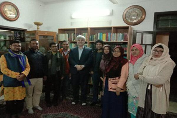 هفتادمین دوره آموزش زبان فارسی در بنگلادش آغاز شد